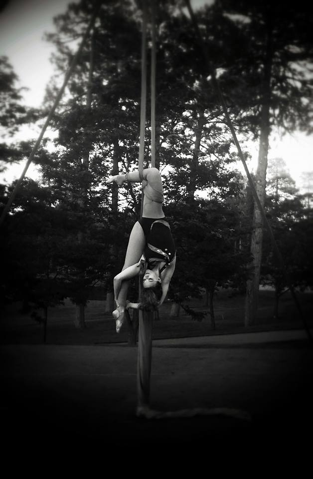 Khrystia St Lucia Knee hang Split Silks